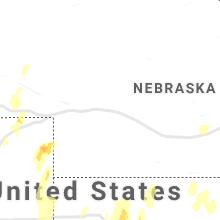 Hail Map for north-platte-ne 2021-10-12
