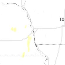 Regional Hail Map for Omaha, NE - Tuesday, October 12, 2021