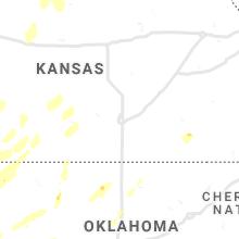 Regional Hail Map for Wichita, KS - Tuesday, October 12, 2021