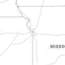 Regional Hail Map for Kansas City, MO - Wednesday, October 13, 2021