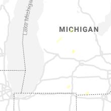 Hail Map for grand-rapids-mi 2021-10-20