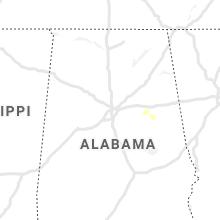 Regional Hail Map for Birmingham, AL - Thursday, October 21, 2021