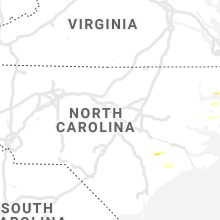 Regional Hail Map for Raleigh, NC - Friday, October 22, 2021