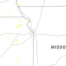 Regional Hail Map for Kansas City, MO - Saturday, October 23, 2021