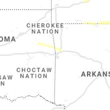 Regional Hail Map for Fort Smith, AR - Sunday, October 24, 2021