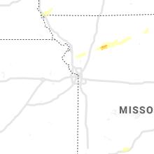 Regional Hail Map for Kansas City, MO - Sunday, October 24, 2021
