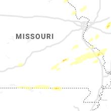 Regional Hail Map for Salem, MO - Sunday, October 24, 2021
