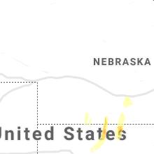 Regional Hail Map for North Platte, NE - Tuesday, October 26, 2021