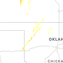 Regional Hail Map for Woodward, OK - Tuesday, October 26, 2021