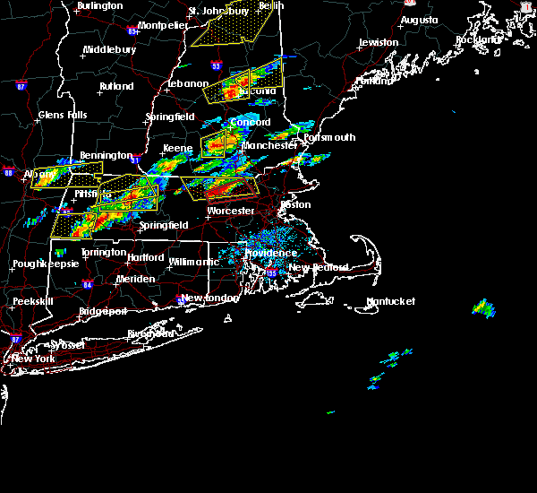 Radar Image for Severe Thunderstorms near Lowell, MA at 8/4/2015 2:10 PM EDT