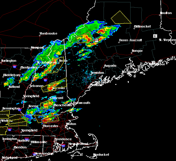 Radar Image for Severe Thunderstorms near Berlin, NH at 8/4/2015 2:10 PM EDT