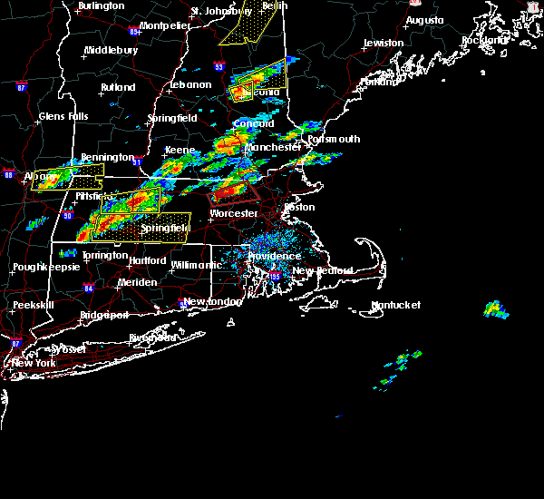 Radar Image for Severe Thunderstorms near Agawam Town, MA at 8/4/2015 2:20 PM EDT