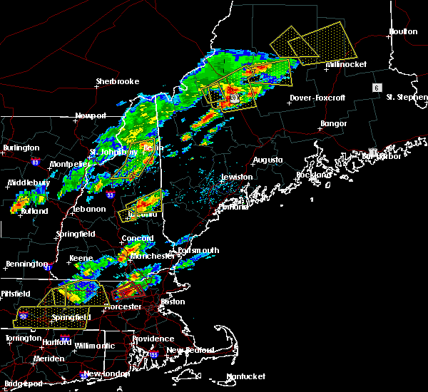 Radar Image for Severe Thunderstorms near Berlin, NH at 8/4/2015 2:33 PM EDT