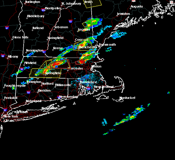 Radar Image for Severe Thunderstorms near Chicopee, MA at 8/4/2015 2:47 PM EDT