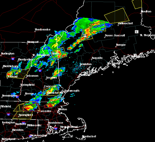 Radar Image for Severe Thunderstorms near Raymond, NH at 8/4/2015 2:50 PM EDT