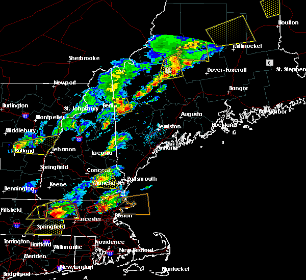Radar Image for Severe Thunderstorms near Dixfield, ME at 8/4/2015 2:53 PM EDT