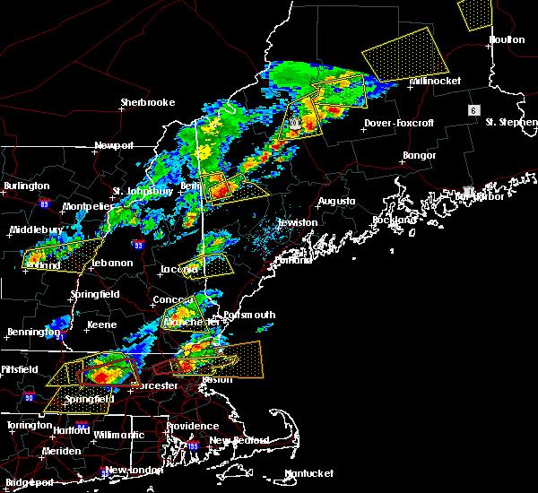 Radar Image for Severe Thunderstorms near Sanbornville, NH at 8/4/2015 2:57 PM EDT