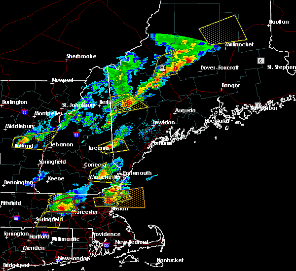 Radar Image for Severe Thunderstorms near Dixfield, ME at 8/4/2015 3:09 PM EDT