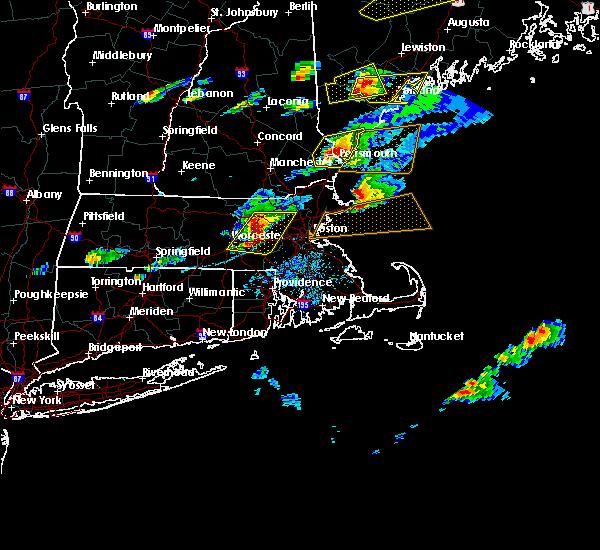 Radar Image for Severe Thunderstorms near Framingham, MA at 8/4/2015 3:49 PM EDT