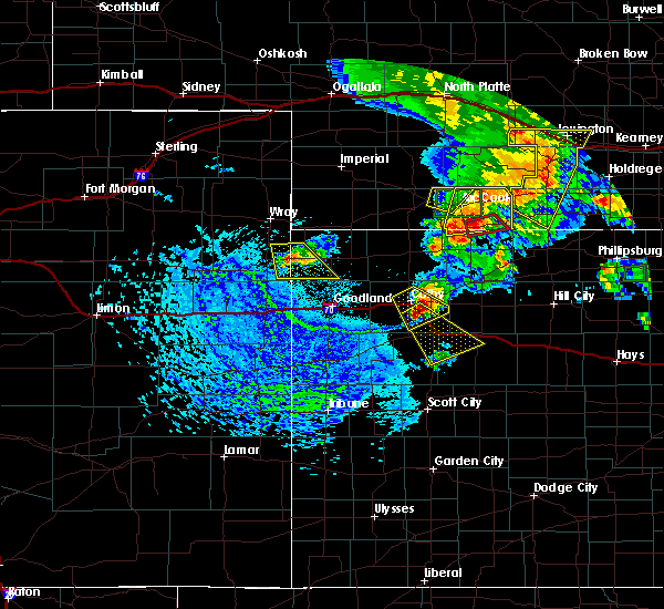 Radar Image for Severe Thunderstorms near Oberlin, KS at 8/4/2015 3:39 PM CDT