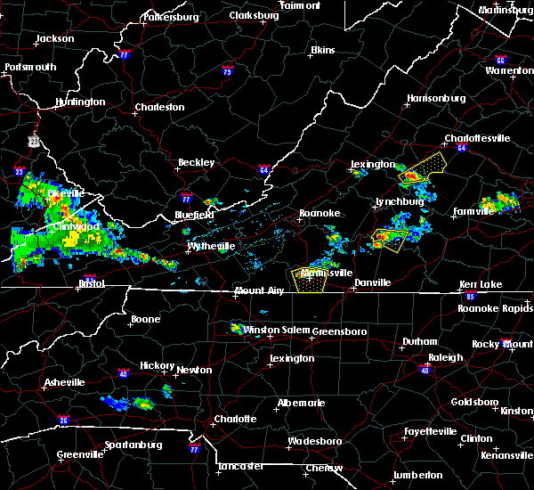 Radar Image for Severe Thunderstorms near Arrington, VA at 8/4/2015 4:51 PM EDT