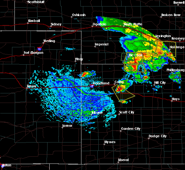 Radar Image for Severe Thunderstorms near Oberlin, KS at 8/4/2015 3:54 PM CDT