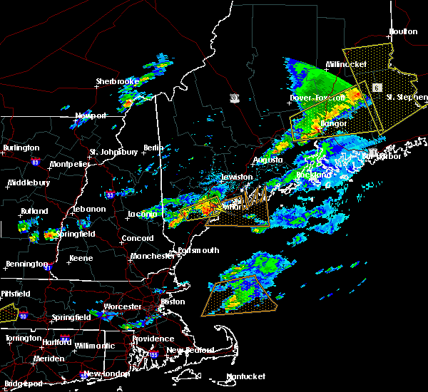 Radar Image for Severe Thunderstorms near Falmouth Foreside, ME at 8/4/2015 5:34 PM EDT