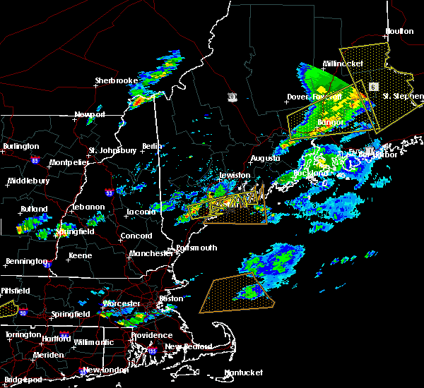 Radar Image for Severe Thunderstorms near Standish, ME at 8/4/2015 5:47 PM EDT