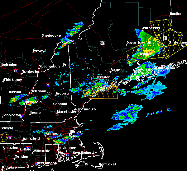 Radar Image for Severe Thunderstorms near Falmouth Foreside, ME at 8/4/2015 6:02 PM EDT
