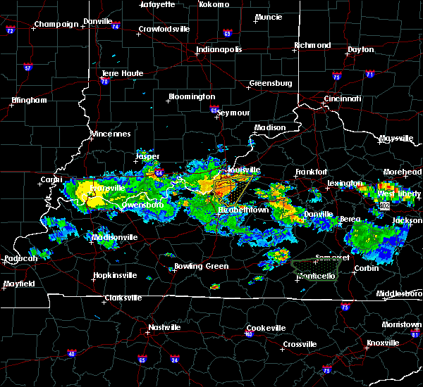 Radar Image for Severe Thunderstorms near South Park View, KY at 8/4/2015 8:06 PM EDT