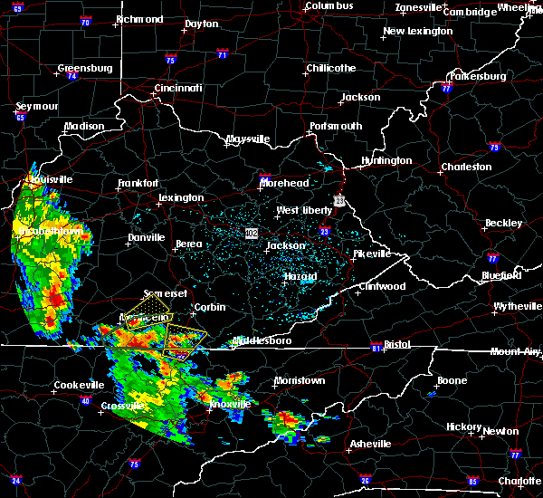 Radar Image for Severe Thunderstorms near Burnside, KY at 8/5/2015 3:43 PM EDT