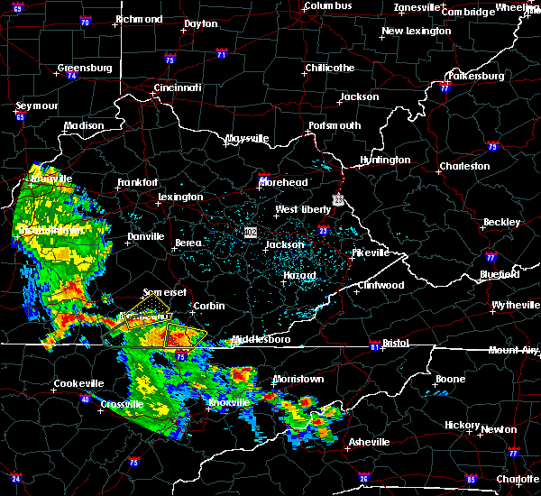 Radar Image for Severe Thunderstorms near Burnside, KY at 8/5/2015 4:04 PM EDT
