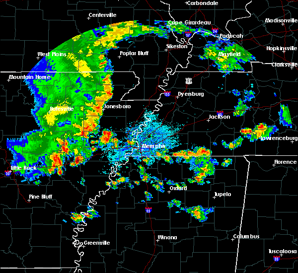 Radar Image for Severe Thunderstorms near Edmondson, AR at 8/5/2015 3:39 PM CDT