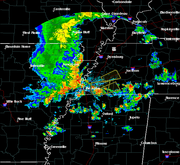Radar Image for Severe Thunderstorms near Moscow, TN at 8/5/2015 5:22 PM CDT