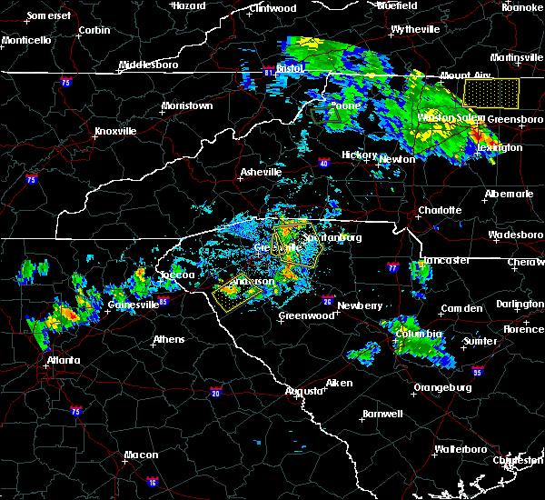 Radar Image for Severe Thunderstorms near Woodruff, SC at 8/5/2015 9:02 PM EDT