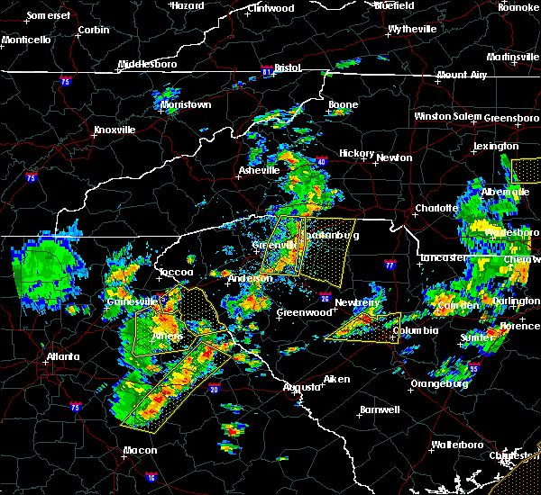 Radar Image for Severe Thunderstorms near Buffalo, SC at 8/6/2015 4:04 PM EDT