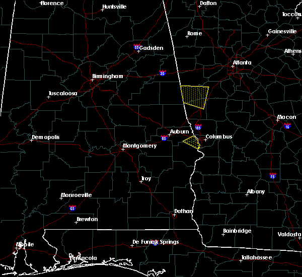 Radar Image for Severe Thunderstorms near Ladonia, AL at 8/6/2015 7:07 PM CDT