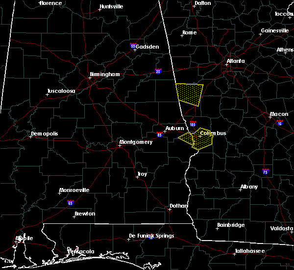 Radar Image for Severe Thunderstorms near Ladonia, AL at 8/6/2015 7:21 PM CDT
