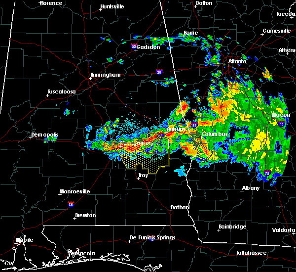 Radar Image for Severe Thunderstorms near Midway, AL at 8/6/2015 8:24 PM CDT