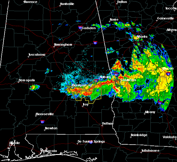 Radar Image for Severe Thunderstorms near Midway, AL at 8/6/2015 8:48 PM CDT