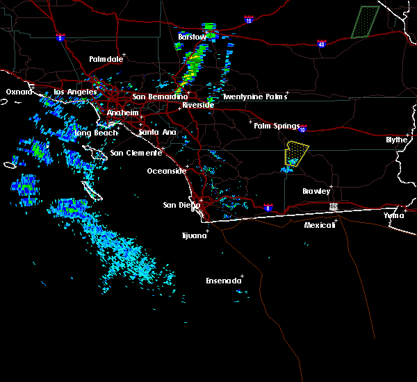 Radar Image for Severe Thunderstorms near Salton Sea Beach, CA at 8/6/2015 7:29 PM PDT