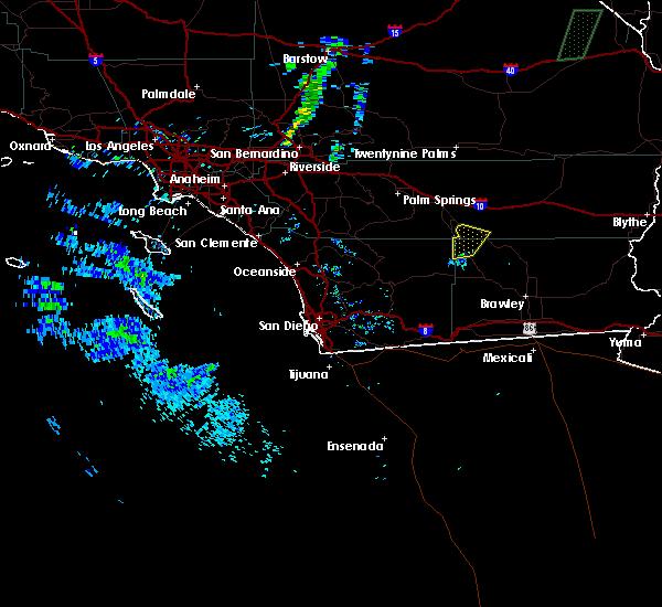 Radar Image for Severe Thunderstorms near Salton Sea Beach, CA at 8/6/2015 7:40 PM PDT