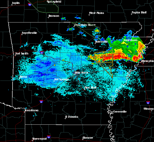 Radar Image for Severe Thunderstorms near Wheatley, AR at 8/7/2015 7:59 AM CDT