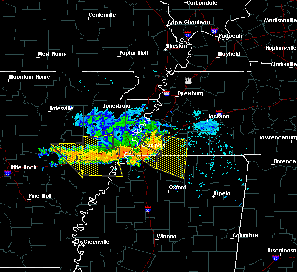 Radar Image for Severe Thunderstorms near Rondo, AR at 8/7/2015 8:37 AM CDT