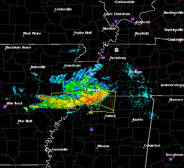 Radar Image for Severe Thunderstorms near Coldwater, MS at 8/7/2015 8:59 AM CDT