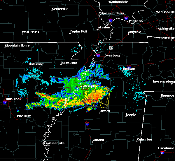 Radar Image for Severe Thunderstorms near Coldwater, MS at 8/7/2015 9:14 AM CDT
