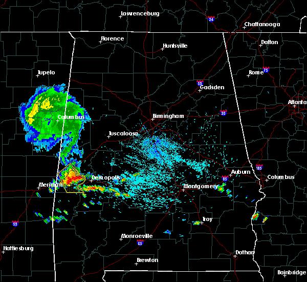 Radar Image for Severe Thunderstorms near Bellamy, AL at 8/7/2015 1:10 PM CDT