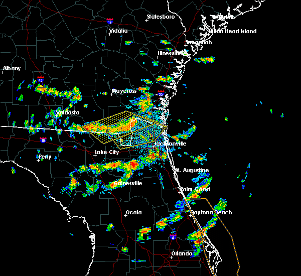 Radar Image for Severe Thunderstorms near Callahan, FL at 8/7/2015 2:15 PM EDT