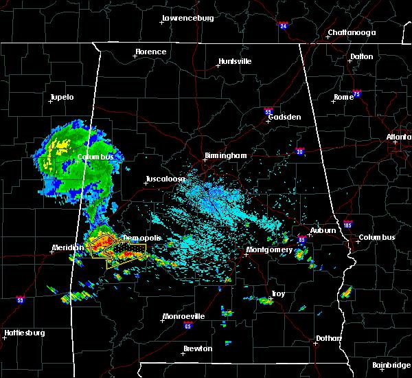 Radar Image for Severe Thunderstorms near Bellamy, AL at 8/7/2015 1:19 PM CDT