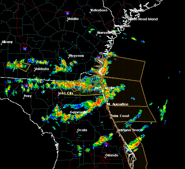 Radar Image for Severe Thunderstorms near World Golf Village, FL at 8/7/2015 2:59 PM EDT